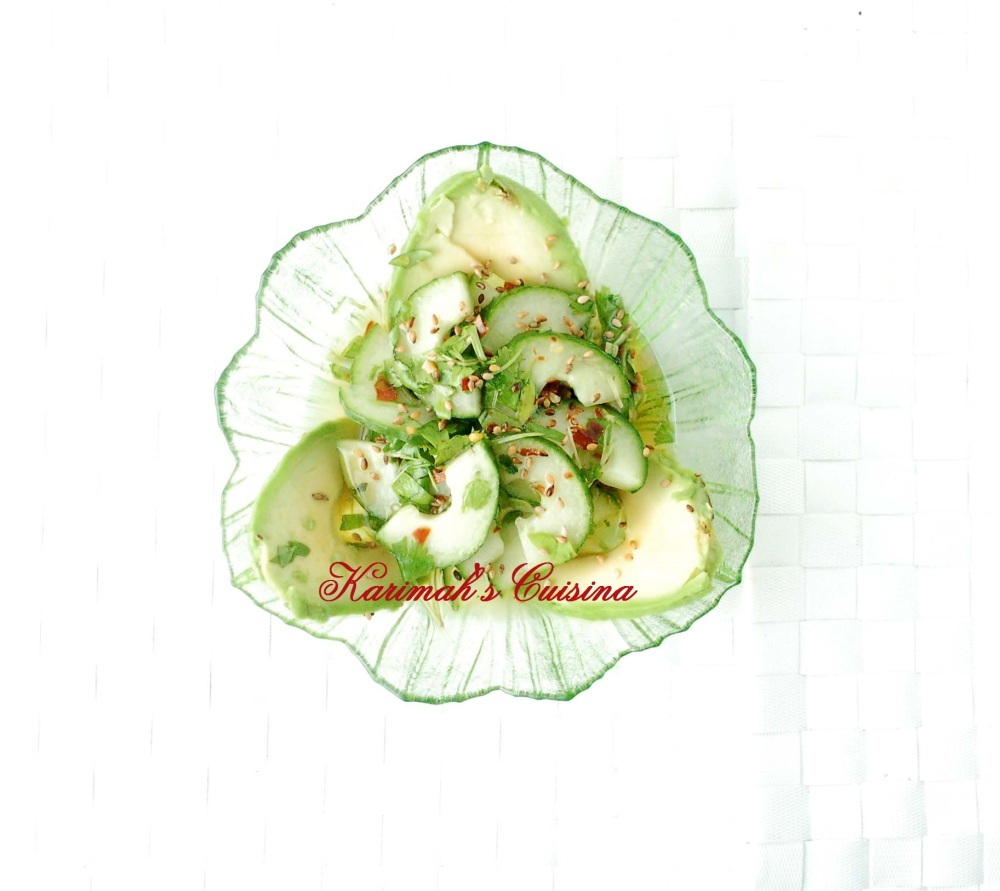 hhh cucumber avocado salad tex