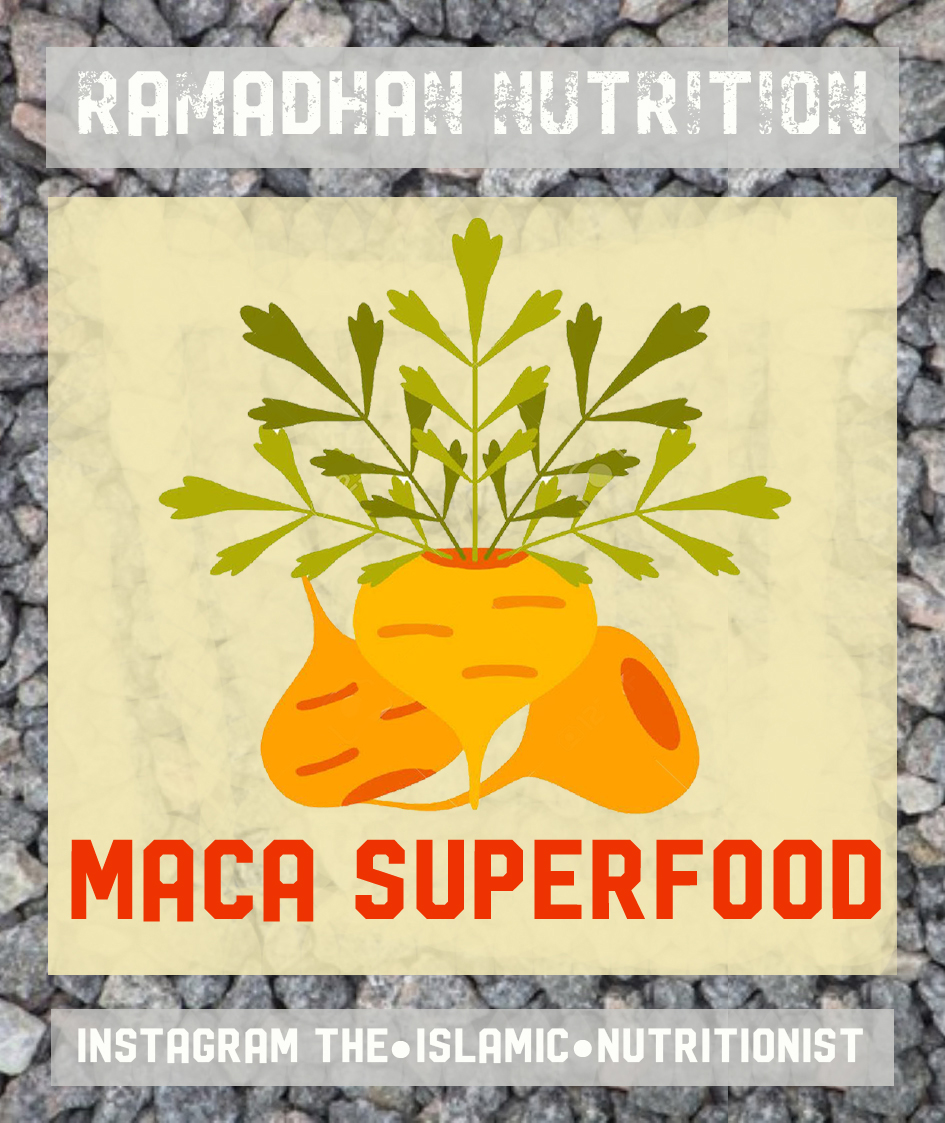 ramadhan nutrition MACA POSTER